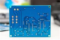 2 Layers PCB Board FR-4 1.6mm Blue Mask HASL lead free